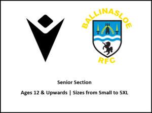 Ballinasloe RFC Senior Section